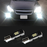 2PCS 1156 BA15S Car LED Light Bulb for Reverse Fog Signal Turn Lamp