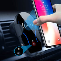 Infrared Sensing Automatic Wireless Charger Car Phone Holder