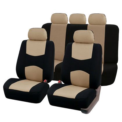 Y30072 Car Seat Cover 9-piece Set Multiple Colors