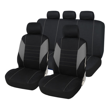 Y30118 Car Seat Cover 9-piece Set Multiple Colors