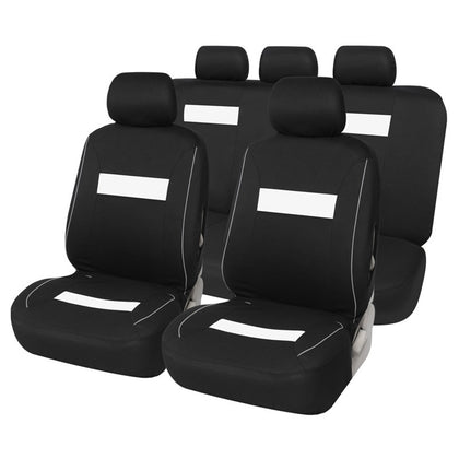 Car Seat Cover 9-piece Set Multiple Colors for Your Choice