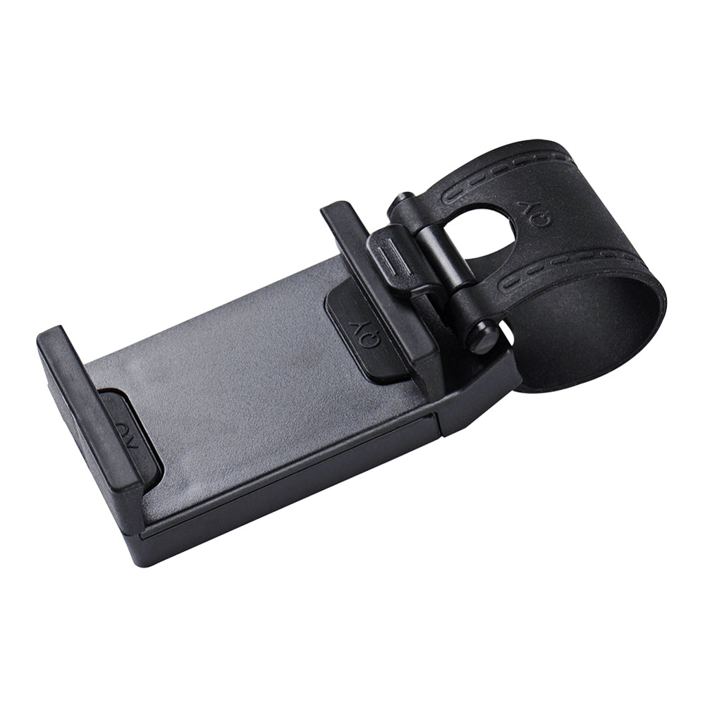 Universal Car Steering Wheel Clip Mount Holder for iPhone / Samsung / Huawei Mobile Phone GPS