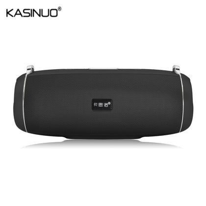Kasinuo K66 Wireless Portable Outdoor Speaker Bluetooth 4.0 2200mAh Battery Dual Diaphragm FM Radio