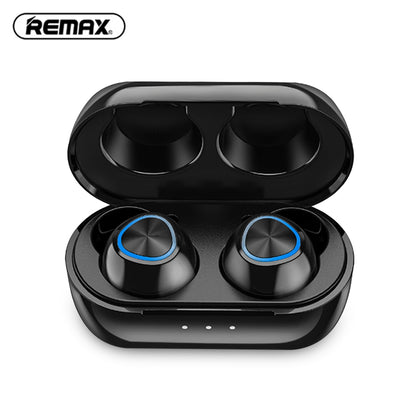 REMAX TWS - 16 Wireless Bluetooth Earphones with 220mAh Charging Compartment