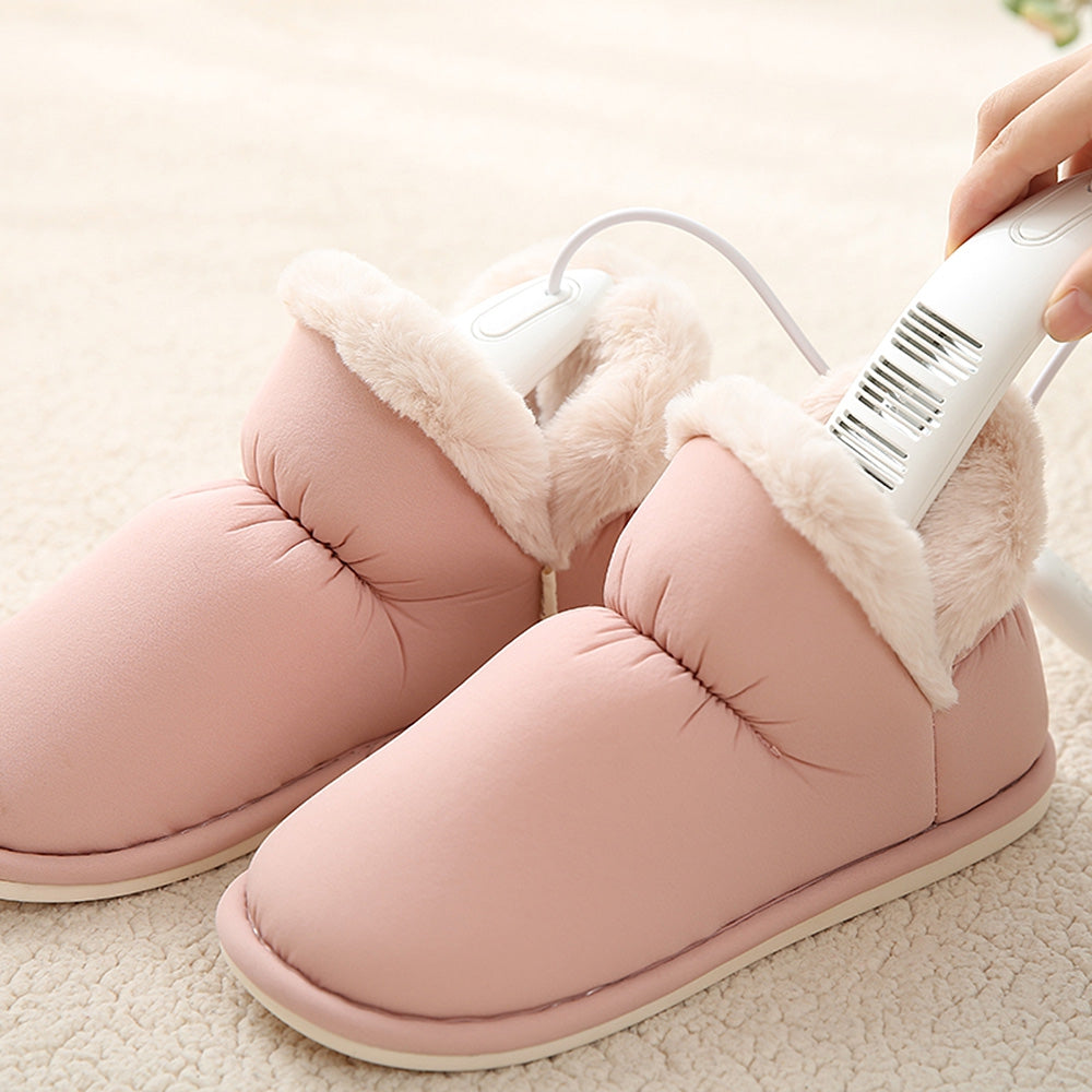 USB Shoes Dryer Timing Heating Warmer Deodorant Dehumidifying Device