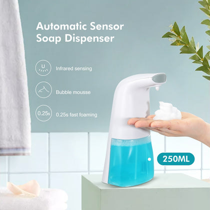 250ML Household Automatic Induction Foaming Soap Dispenser