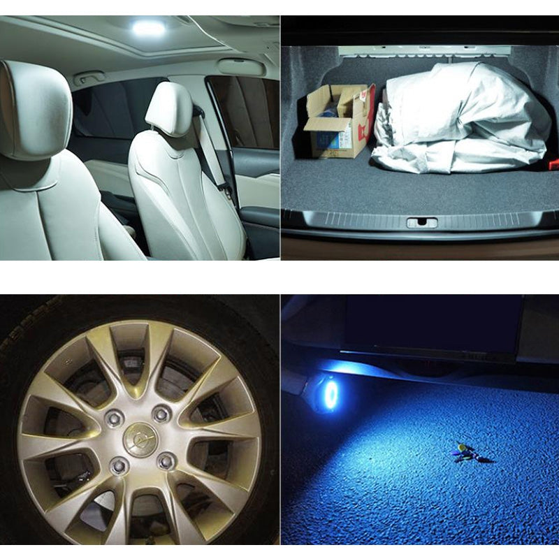 LED Interior Lighting Reading Light Rear Car Ceiling Lamp Trunk Roof Lights