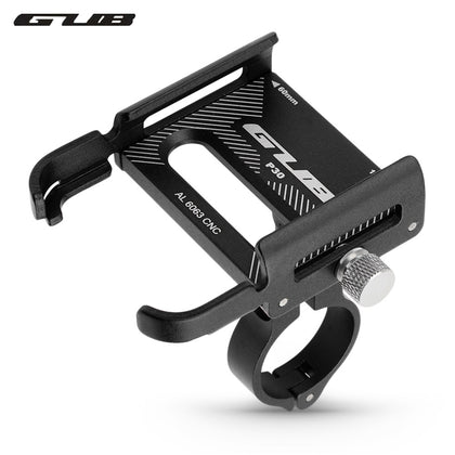 GUB P30 Aluminum Alloy Phone Holder Battery Car / Electric Motorcycle / Bicycle