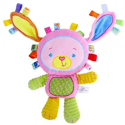 Small Stuffed Multicolour Soft Short Plush Animals Doll Appease Newborn Baby