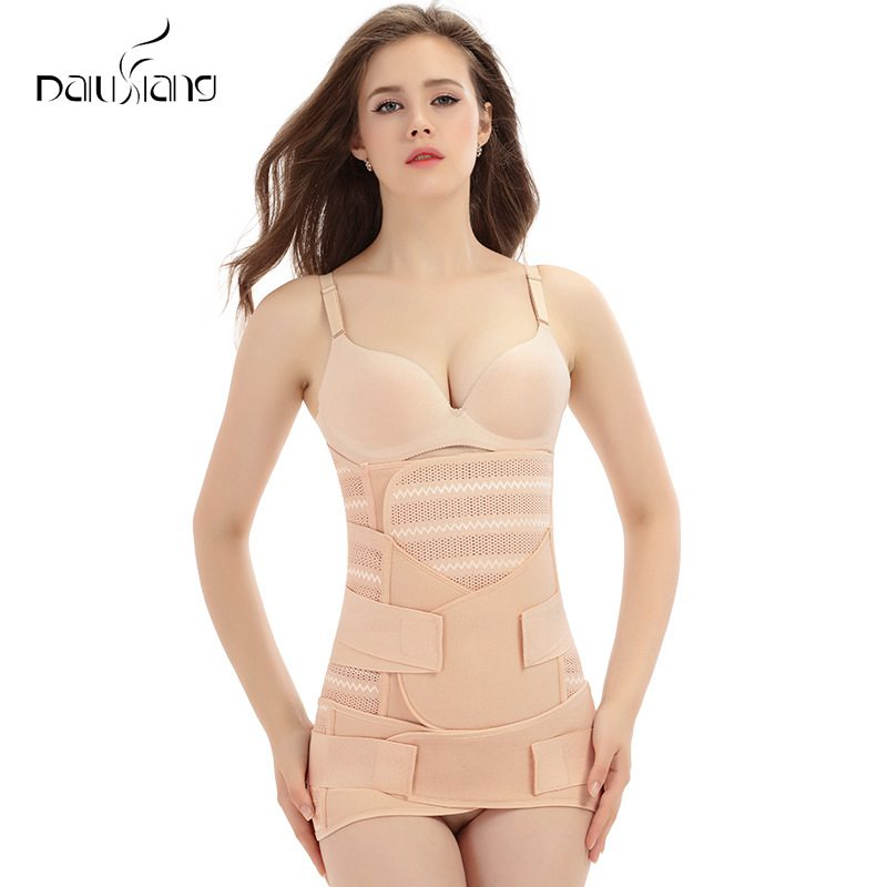 Postpartum Abdomen Belt Three-piece Girdle
