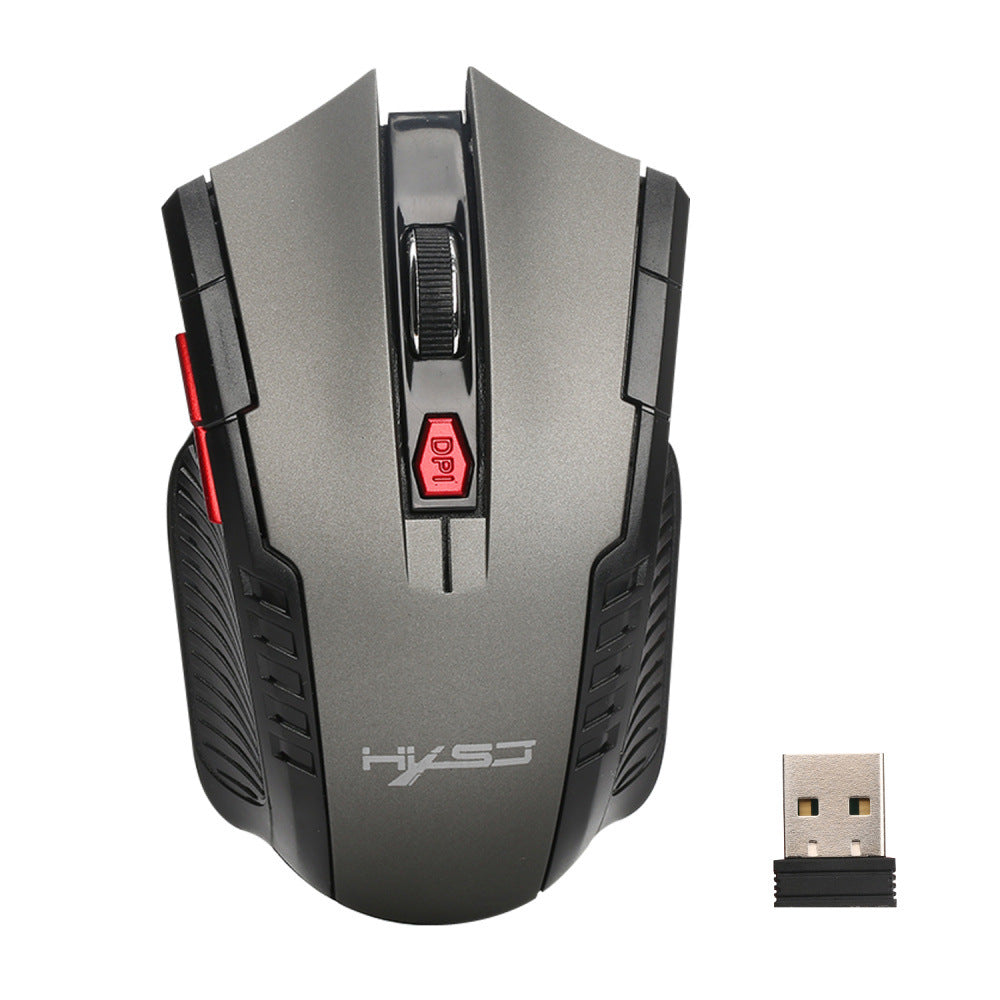 HXSJ X20 2400DPI 2.4GHz Wireless 6 Buttons Optical Gaming Mouse