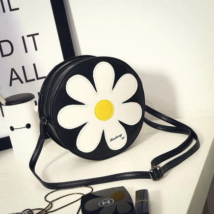 Floral Round Shoulder bag