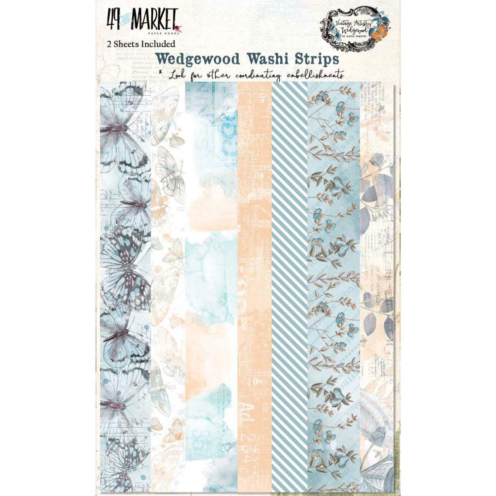 Vintage Artistry Wedgewood Washi Tape Sheets