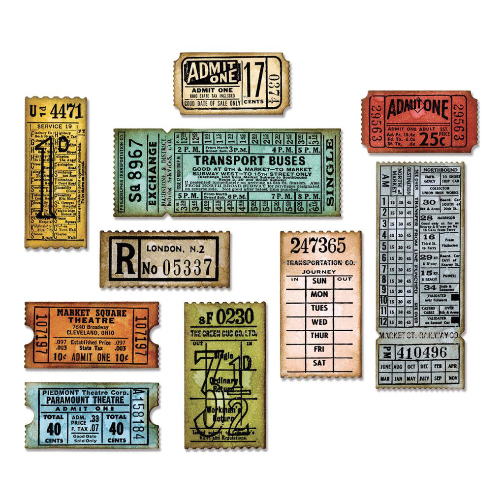 Tim Holtz TIcket Booth
