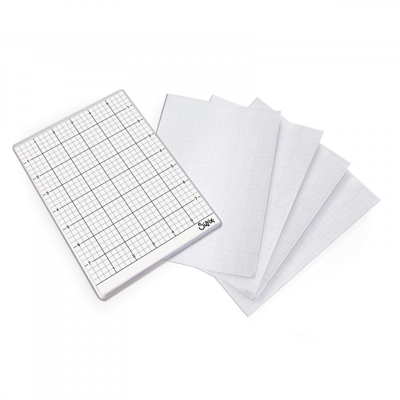 Sizzix Sticky Grid Sheets - 6