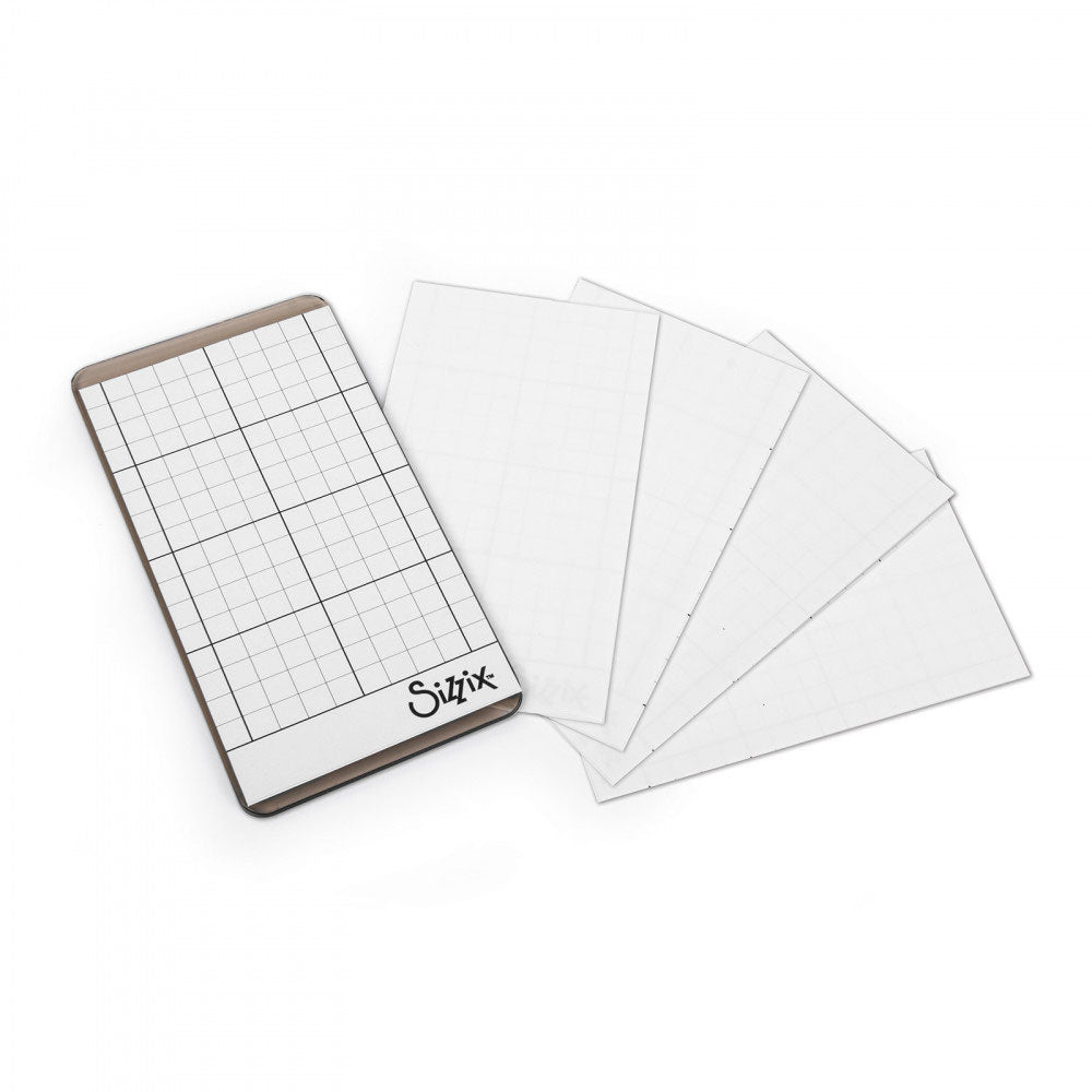 "Sizzix Sticky Grid Sheets - 2 5/8"" x 4 5/8"", 5 Pack"