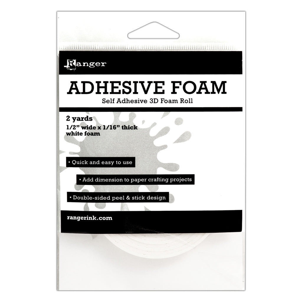 White Adhesive Foam Tape