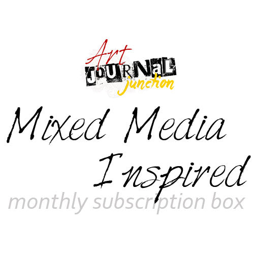 Mixed Media Inspired monthly subscription box