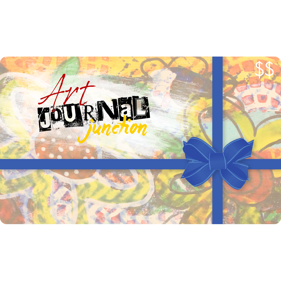 Art Journal Junction Gift Card | Mixed Media Store | Art Supplies