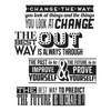 Tim Holtz Stamp Set - Motivation 2 - CMS290