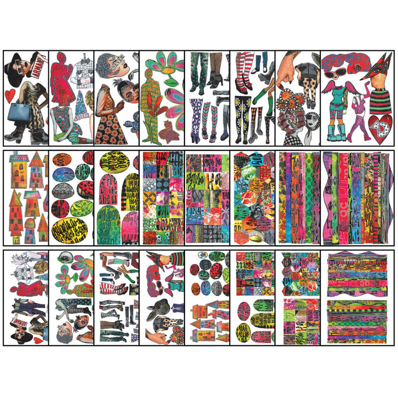 Dylusions Collage Sheets - Set 3