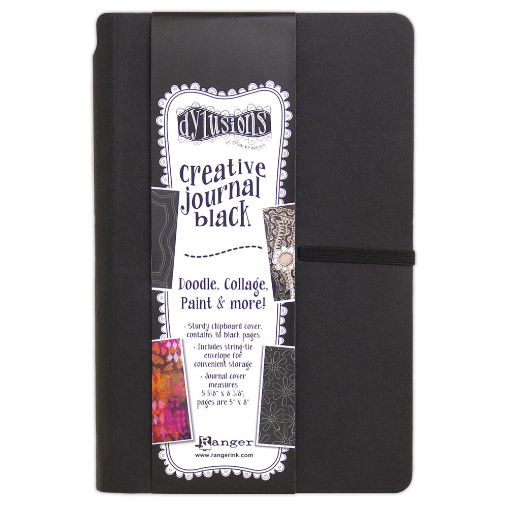 Dylusions Small Black Creative Art Journal