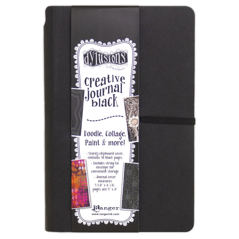 Dylusions Black Small Creative Journal