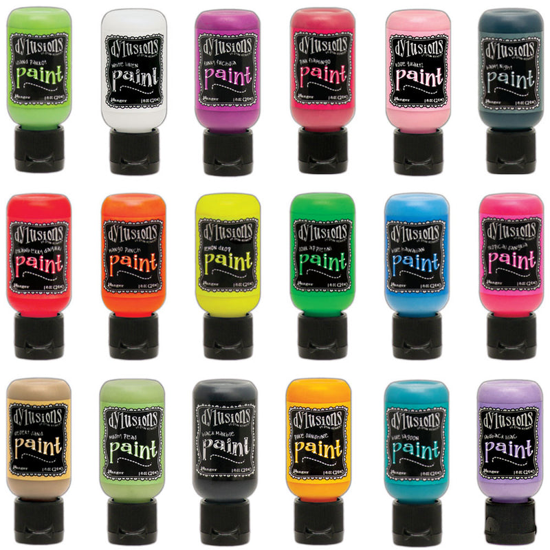 Dylusions Paints - 1oz Bottles   (available in 36 colors)