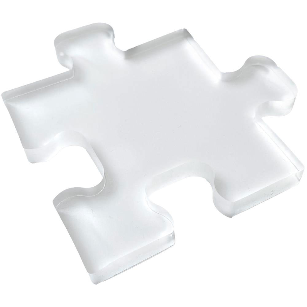 Gel Press 4x4 Puzzle Piece Gel Printing Plate