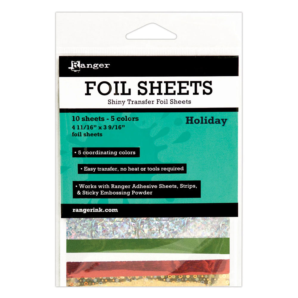 Holiday Shiny Transfer Foil Sheets