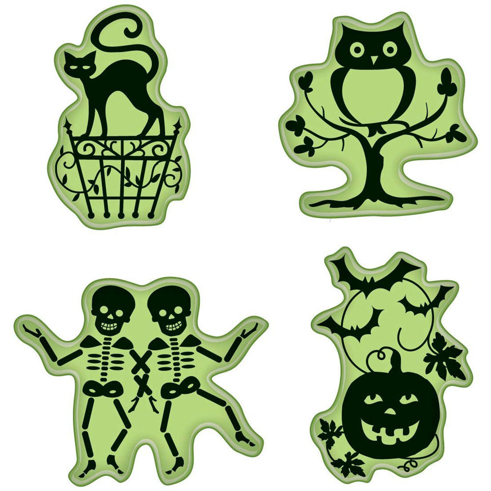 Inkadinkado Halloween Icons Stamp Set - Discontinued - Available while Supplies Last