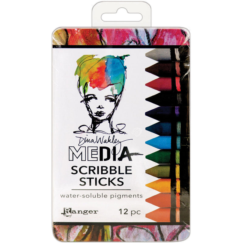 Dina Wakley Media Scribble Sticks - Set 2
