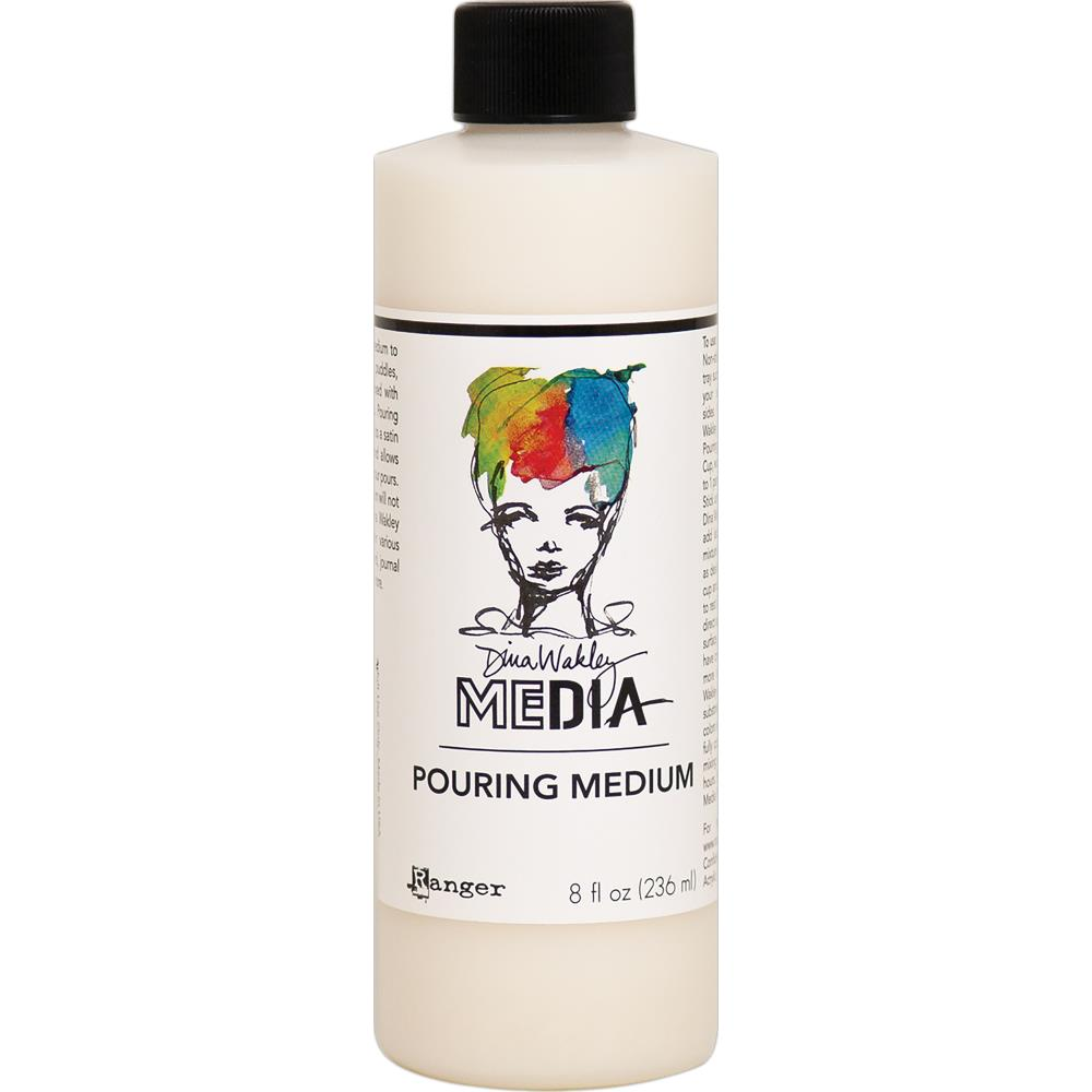 Dina Wakley Media Pouring Medium - 8oz bottle