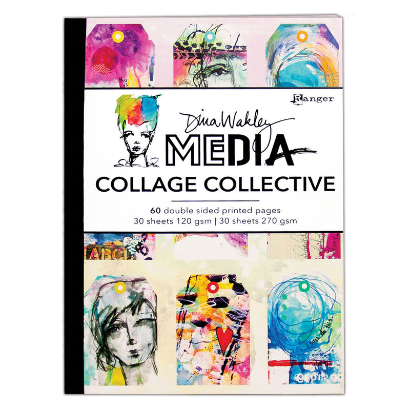 Dina Wakley Media Collage Collective 1