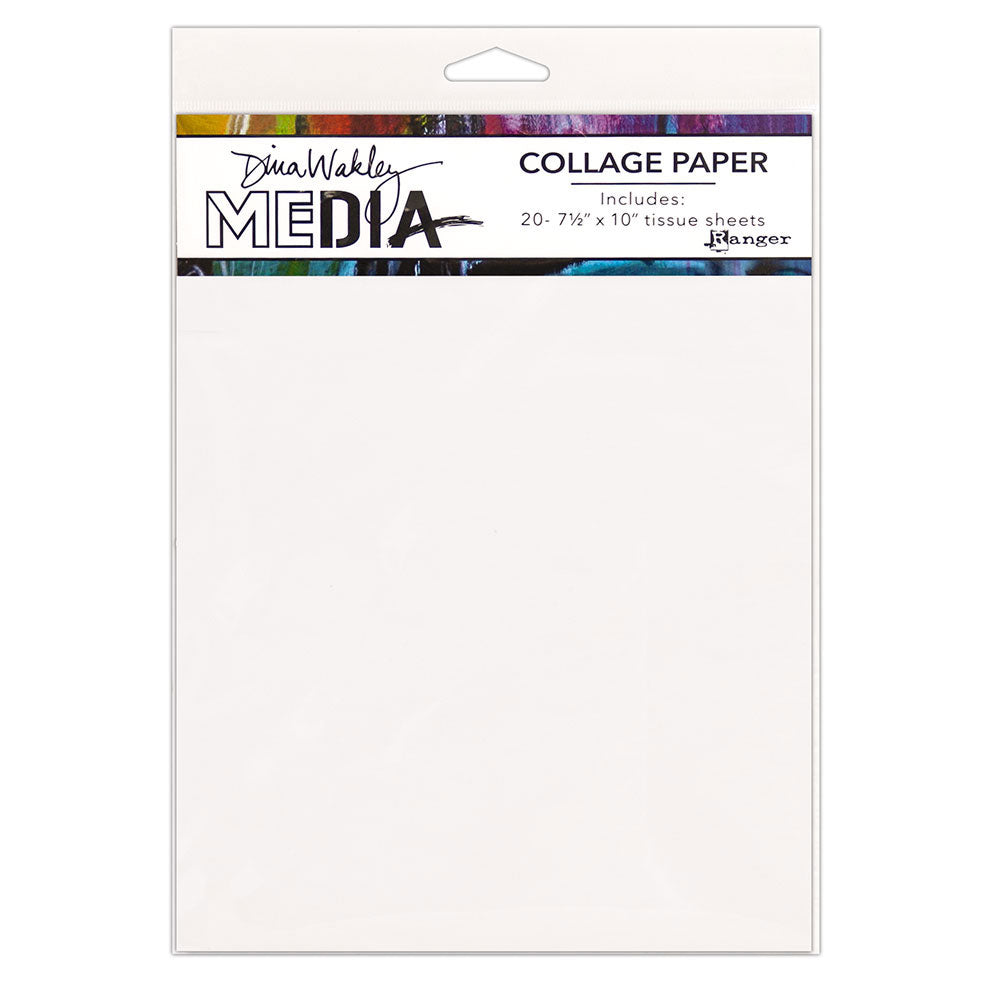 Dina Wakley Media Plain Tissue Sheets
