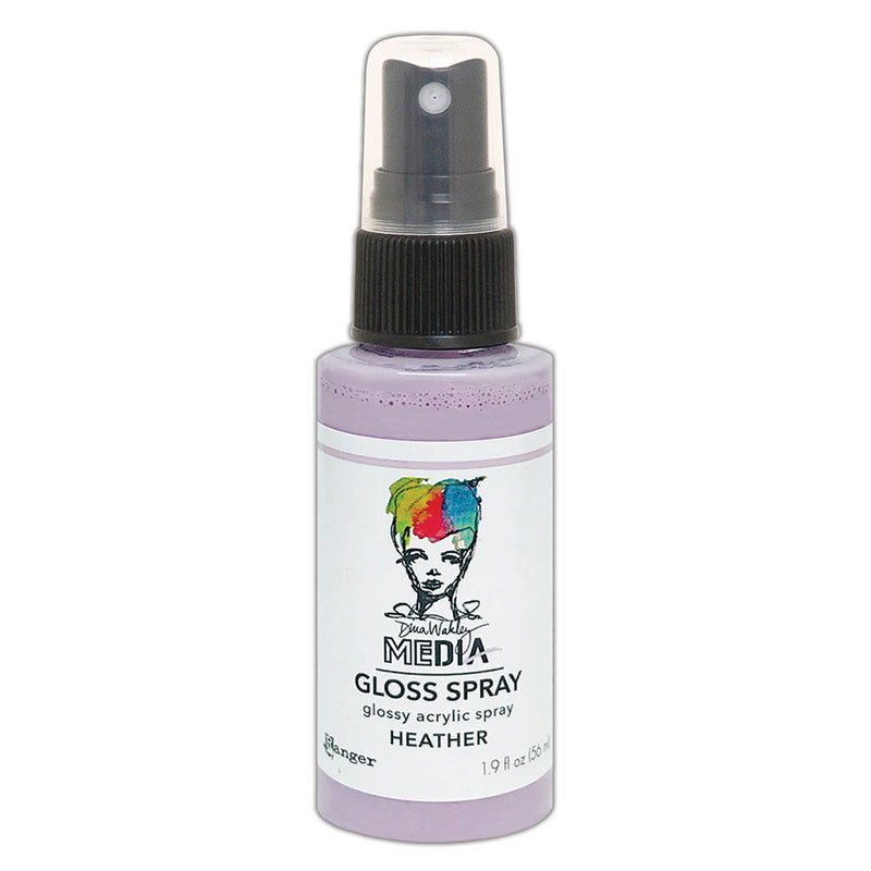 Dina Wakley Media Gloss Sprays    (available in 20 colors)