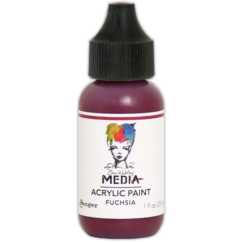 Dina Wakley Media Heavy Body Acrylic Paint (available in 37 colors)