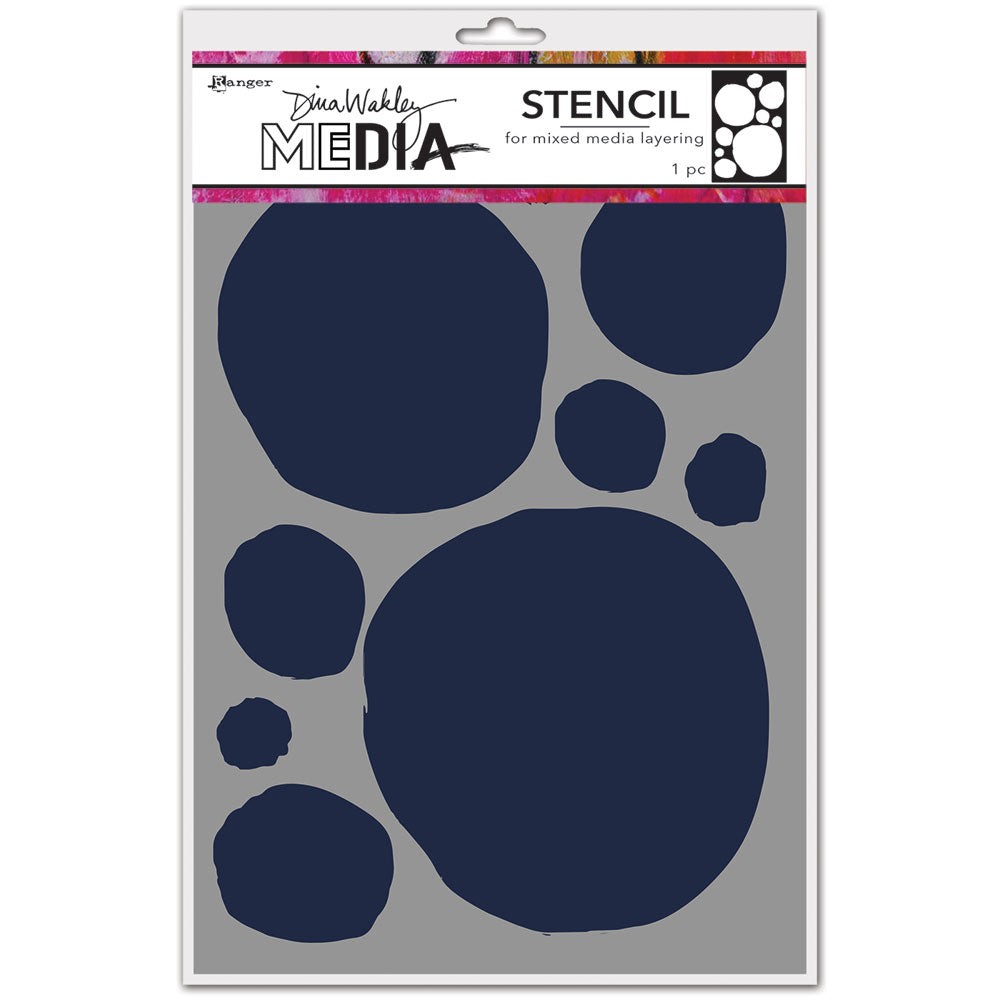 Dina Wakley Media Circles for Painting Stencil