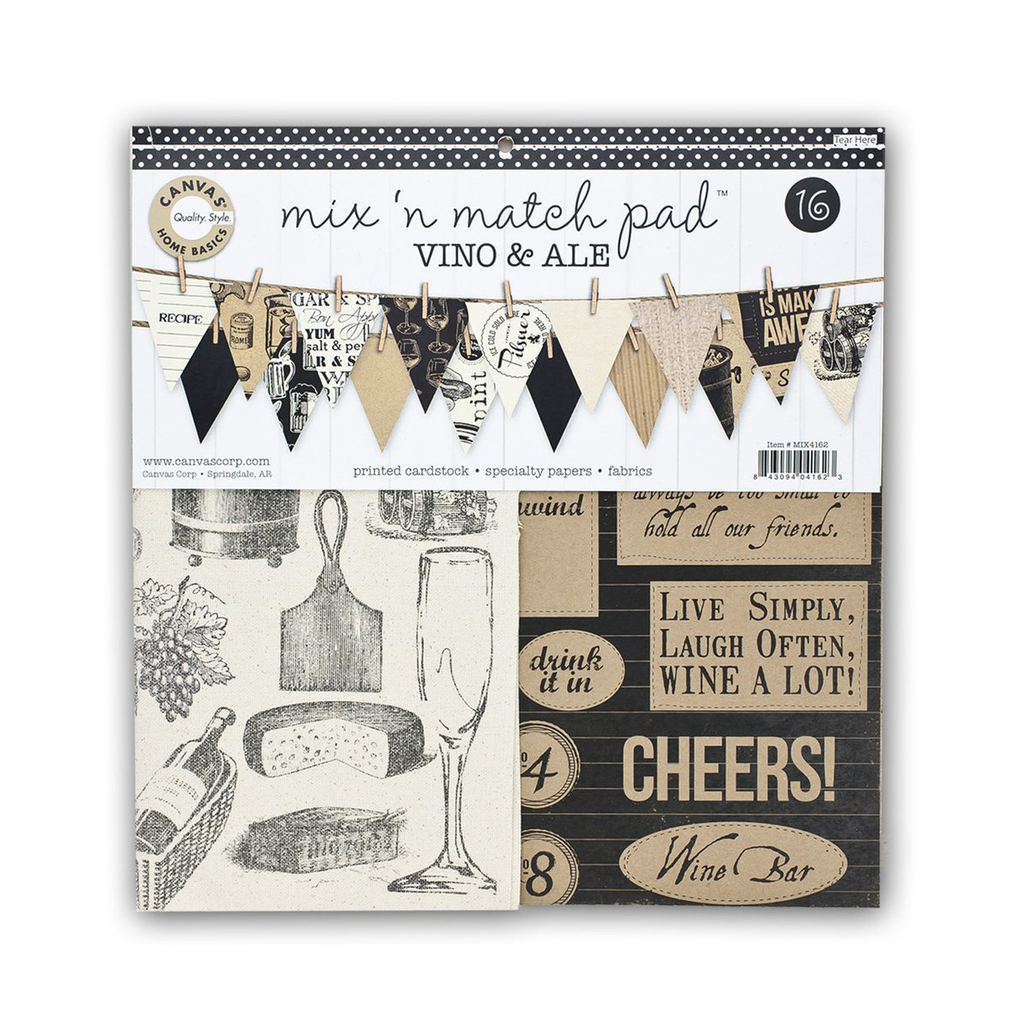 Mix & Match Pad - Vino & Ale