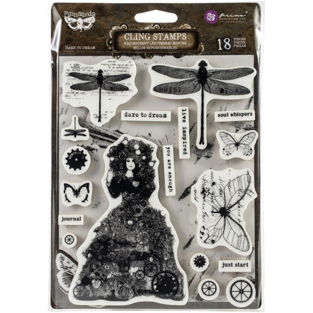 Finnabair Stamp Set - Dare to Dream