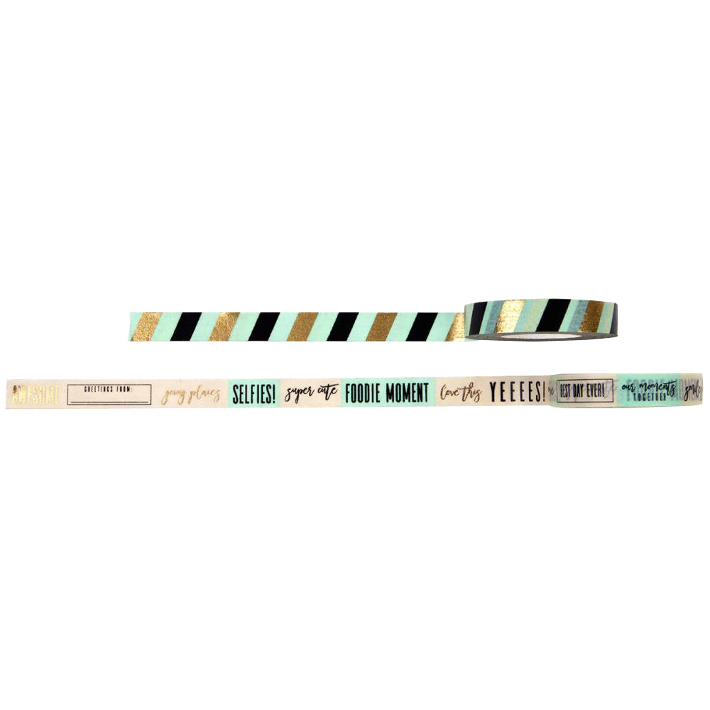 My Prima Planner Decorative Tape - Frank Garcia Stripes