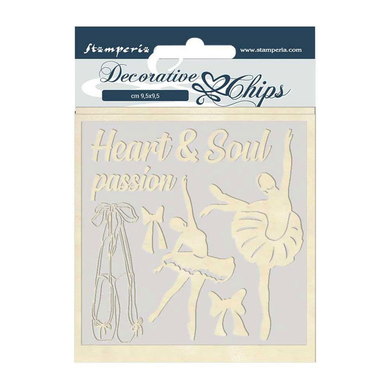 Passion Dancer Decorative Chips