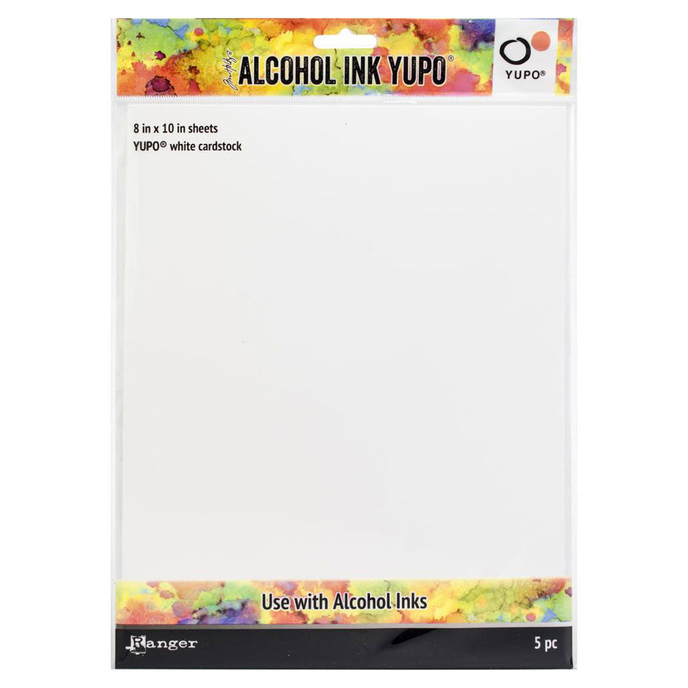 Tim Holtz Alcohol Ink 8x10 White Yupo