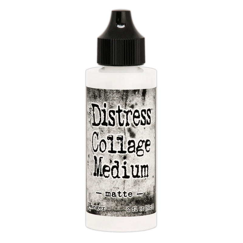 Tim Holtz Distress Matte Collage Medium    (available in 2 sizes)