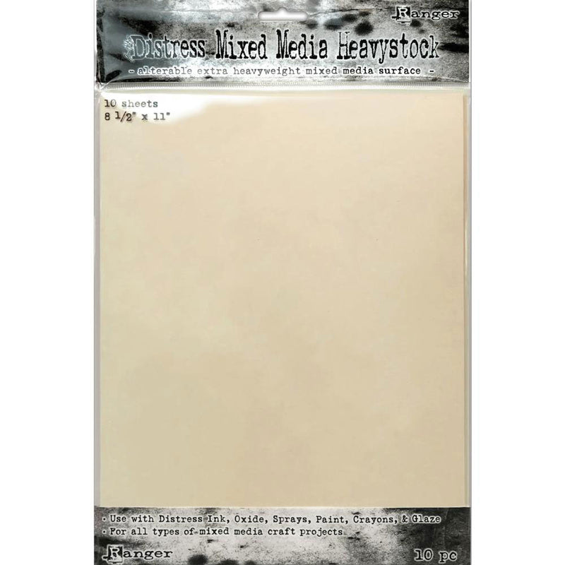 Tim Holtz Distress 8.5 x 11 Mixed Media Heavystock