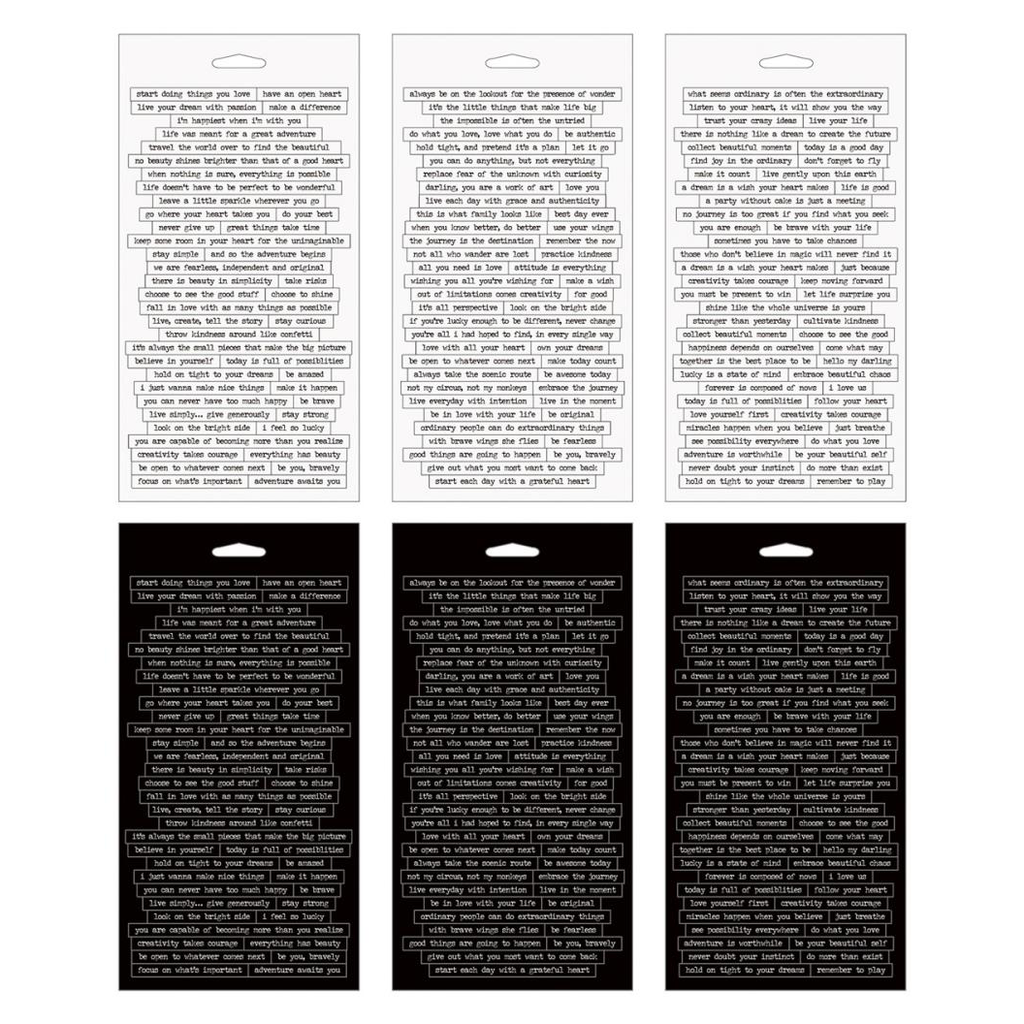 Tim Holtz Idea-ology Small Talk Stickers