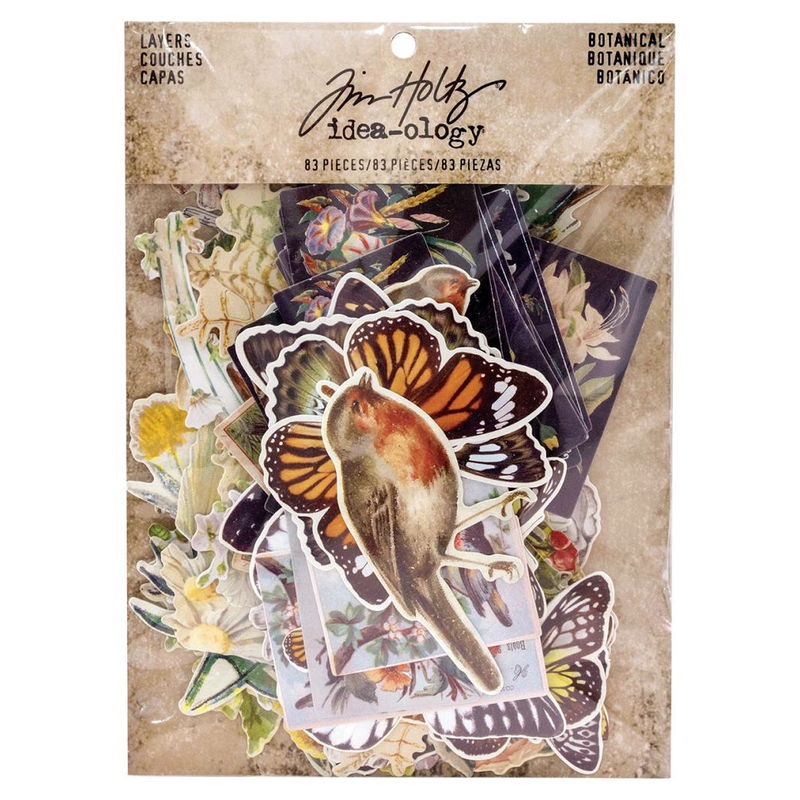 Tim Holtz Idea-ology Botanical Layers Pack