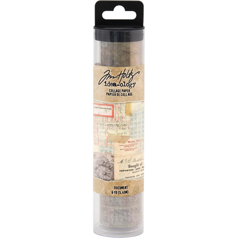 Tim Holtz Idea-ology Collage Paper - Document