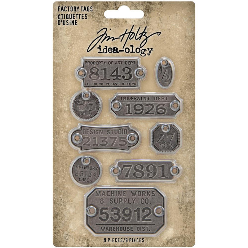 Tim Holtz Idea-ology Factory Tags