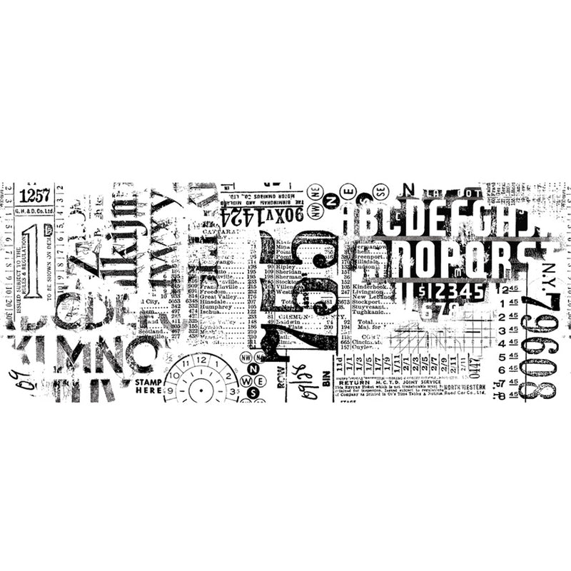 Tim Holtz Idea-ology Typeset Collage Paper